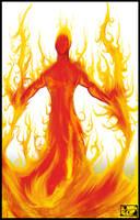 Fire Elemental by NovaGrey