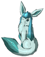 Glaceon by Freaky--Like--Vivi
