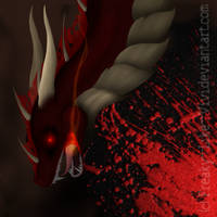 Dragon-Welcome to my bloody world by Freaky--Like--Vivi