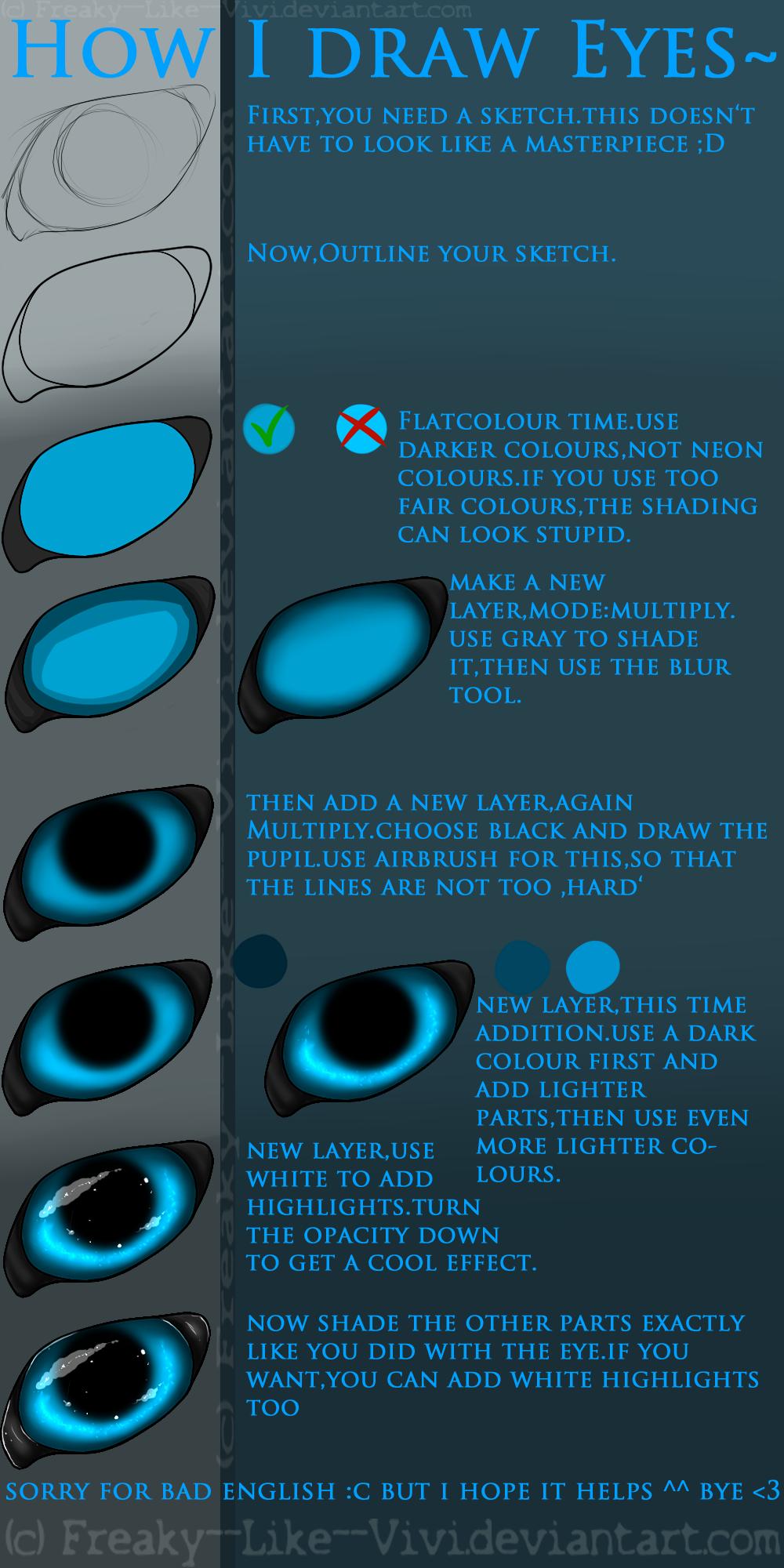 Eye Tutorial :3 by Freaky--Like--Vivi