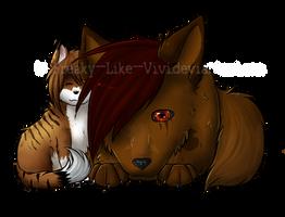 Kitty Cuddle by Freaky--Like--Vivi