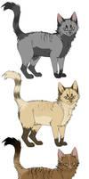 3 Cat adopts CHEAPER by Freaky--Like--Vivi