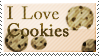 I LOVE COOKIES - Stamp by Freaky--Like--Vivi