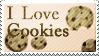 I LOVE COOKIES - Stamp by Freaky--Like--Vivi