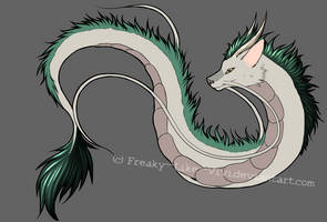 Haku - wip by Freaky--Like--Vivi