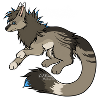 Canine Adoptable by Freaky--Like--Vivi