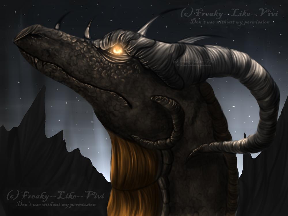 Dragon by Freaky--Like--Vivi