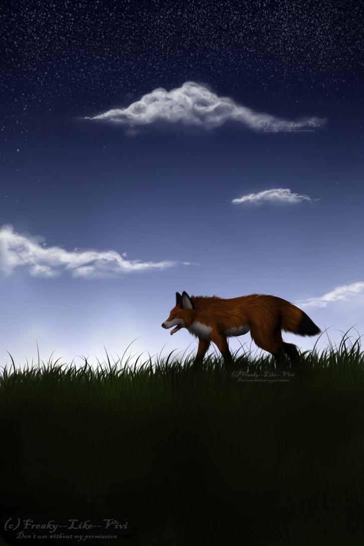 Lonely Walk... by Freaky--Like--Vivi