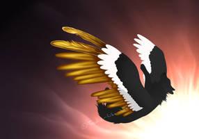 WIP: Fallen angel by Freaky--Like--Vivi