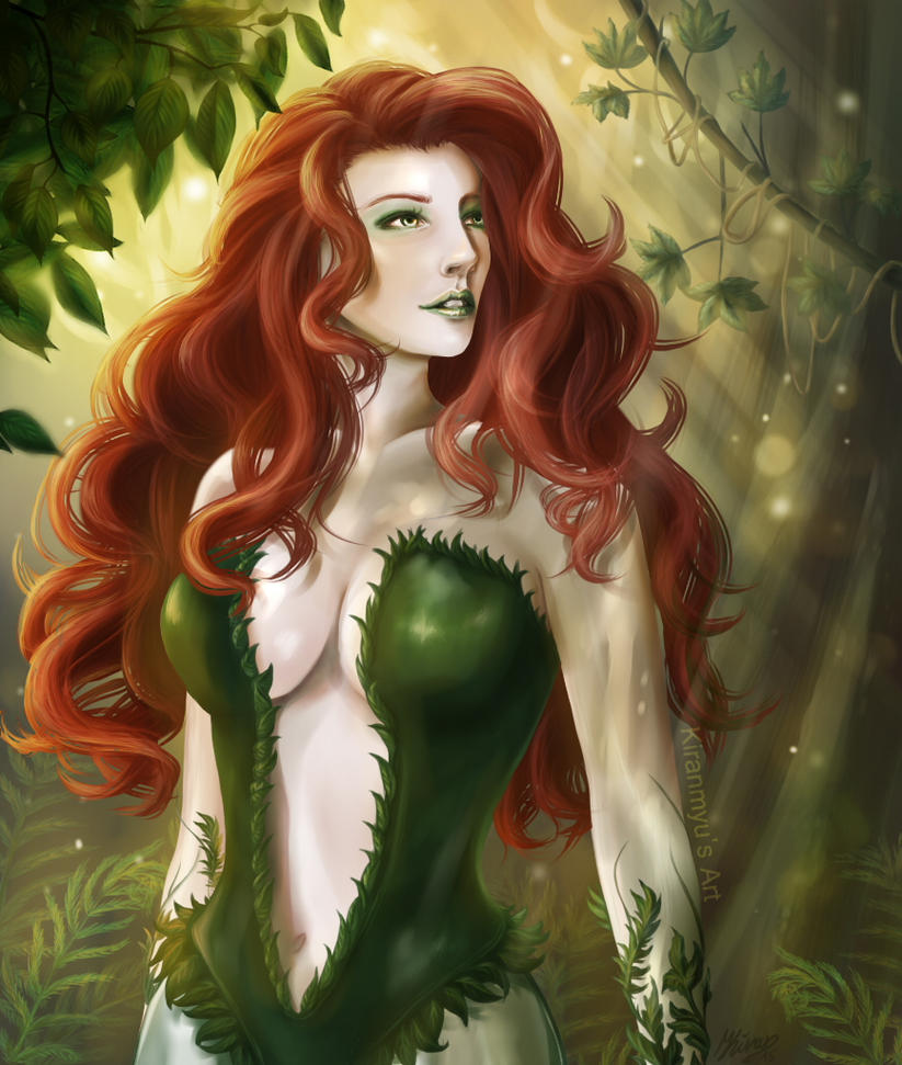 Poison Ivy - Flower Beauty by anime4ewa