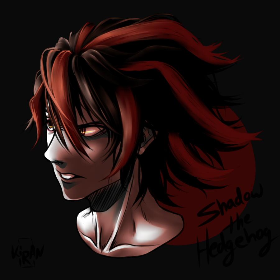 Human Shadow the Hedgehog by anime4ewa on DeviantArt