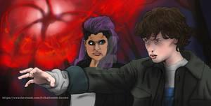 Stranger Things Jane and Kali