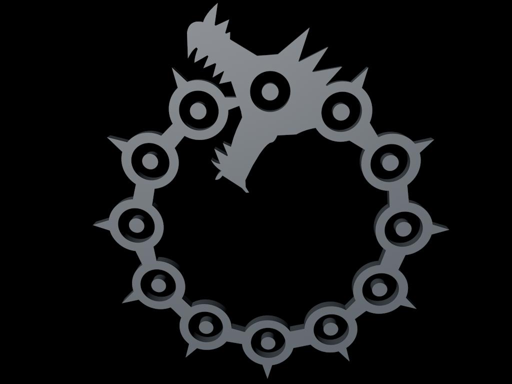 Sin of wrath symbol