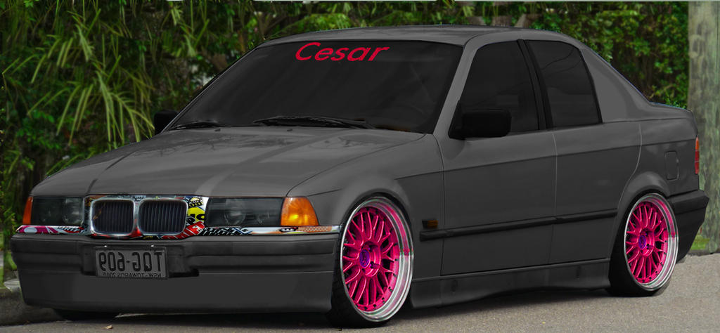 virtual tuning bmw e36 by seezaar on deviantart. Black Bedroom Furniture Sets. Home Design Ideas