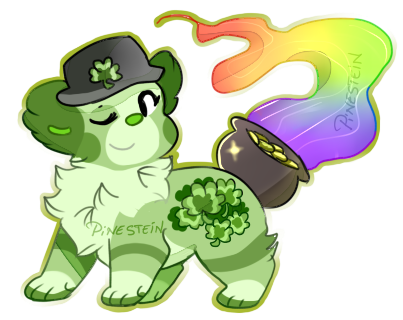 St.Patrick's Day auction by Pinestein