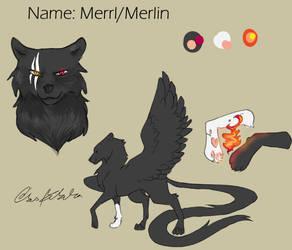 Merlin Ref by rebekaedes