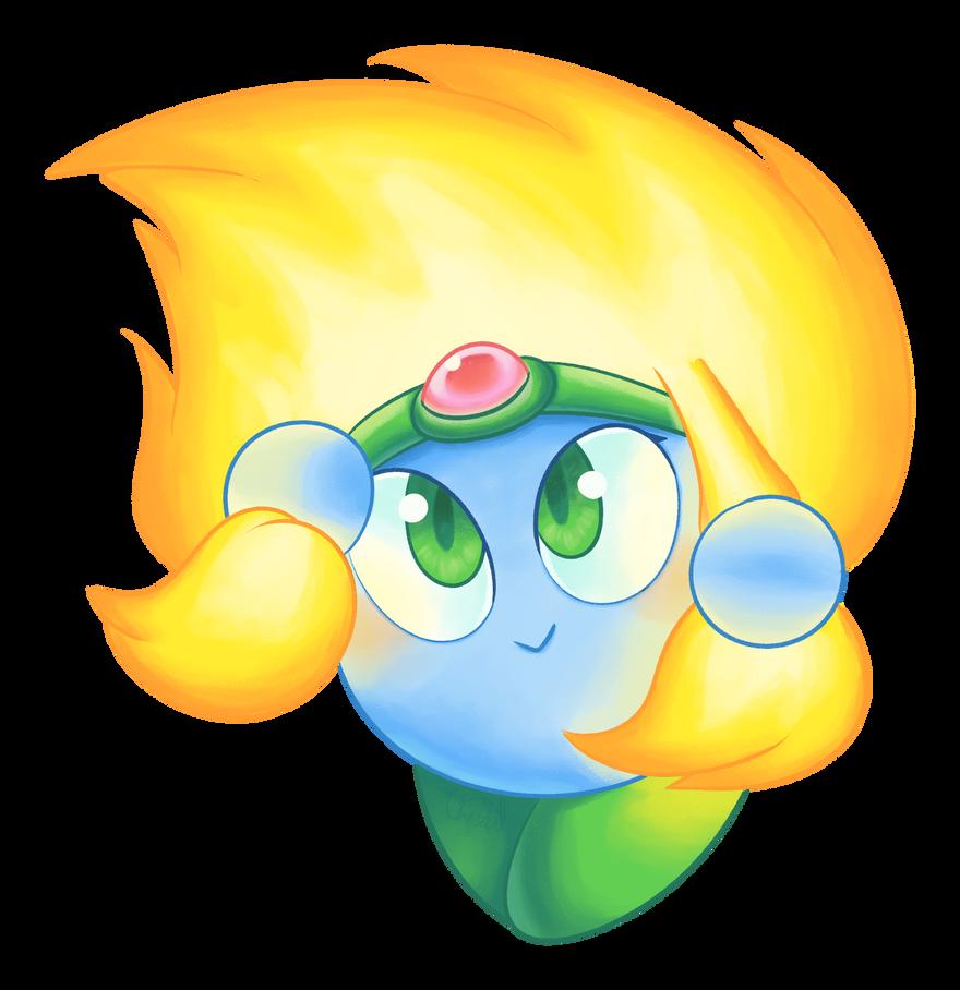 C - Kirby Collab - Burning Leo by Chenanigans on DeviantArt