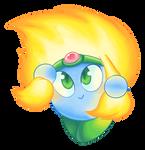 C - Kirby Collab - Burning Leo