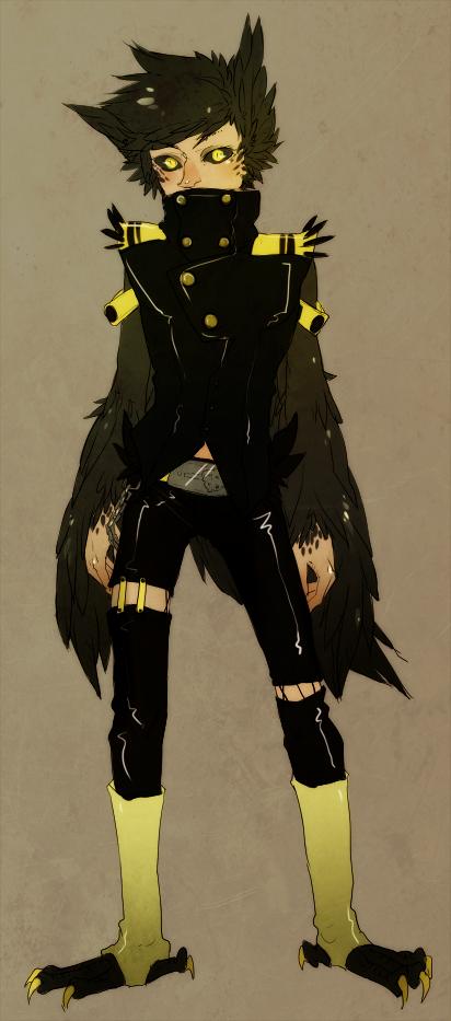 hello mister crow by Jotaku