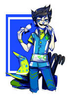 Acquaristuck Set 3 of 8: John by Jotaku