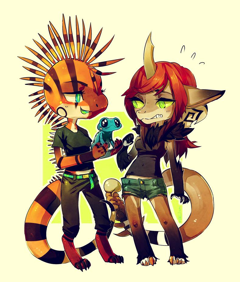 Commission: orange04 - Look aint it cute by Jotaku