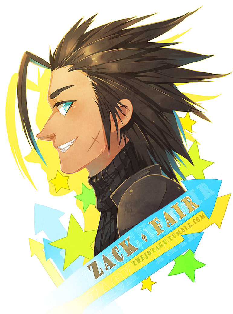 ::FF7:: Zack Fair by Jotaku
