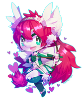 ::Commission:: sweetsushi - Freeze It Buster by Jotaku