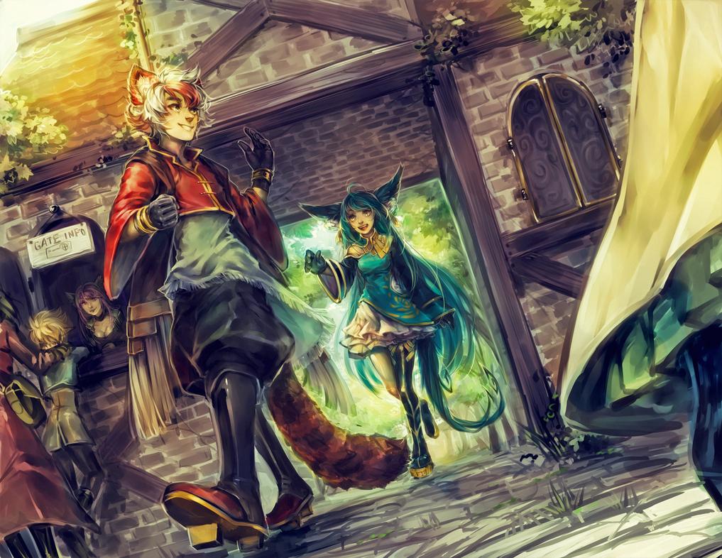 ::Commission:: Vaniraa 2 by Jotaku