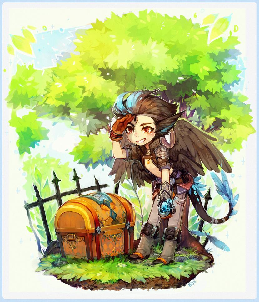 ::YCH:: RPG Chibi for Velums by Jotaku