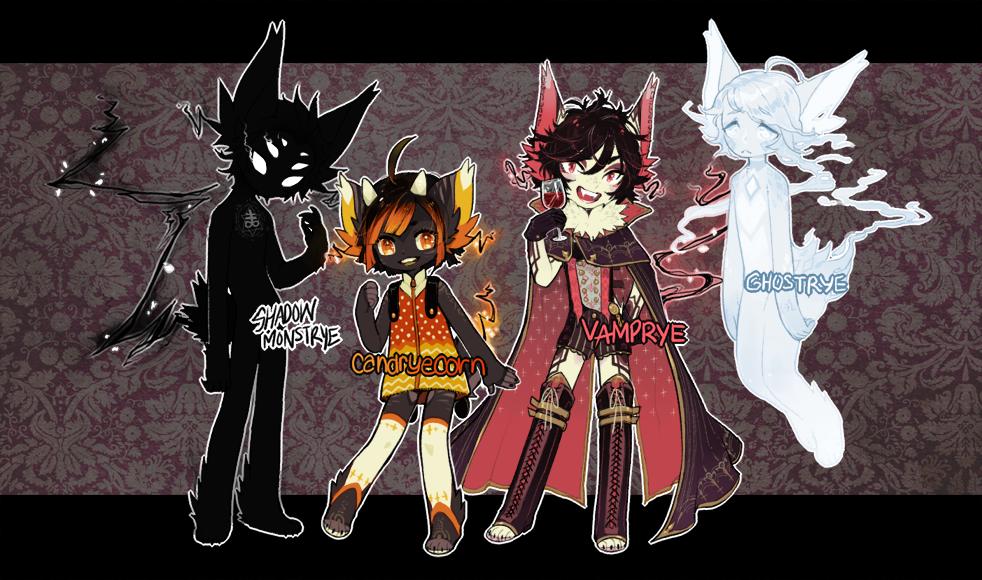 ::Adoptables:: Blakrye Halloween B1 by Jotaku