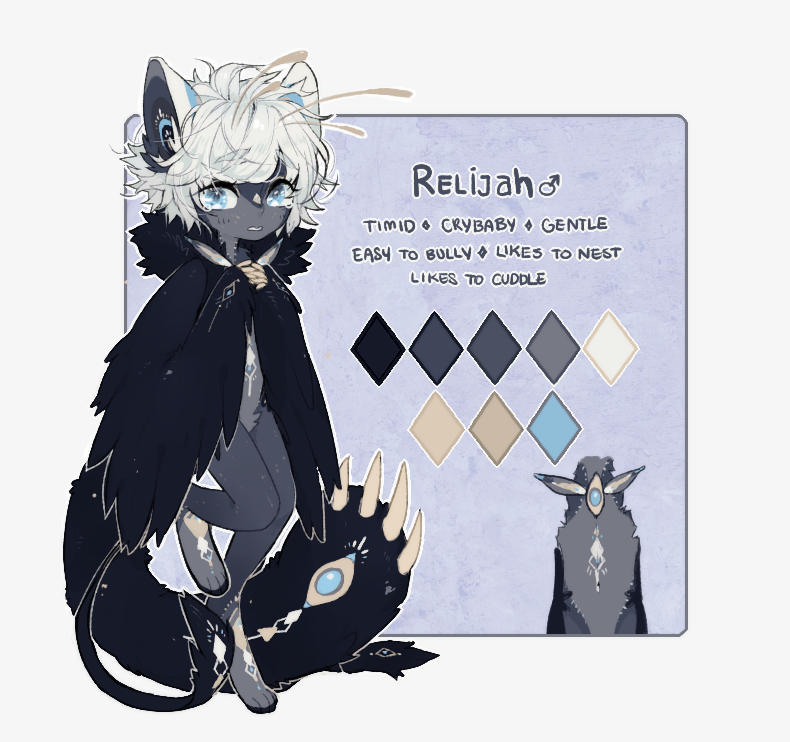 ::Personal:: Relijah // Chibi Ref Card by Jotaku