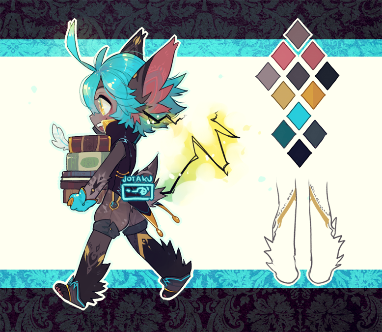 ::Adoptables::  Blakrye Auction [Closed] by Jotaku