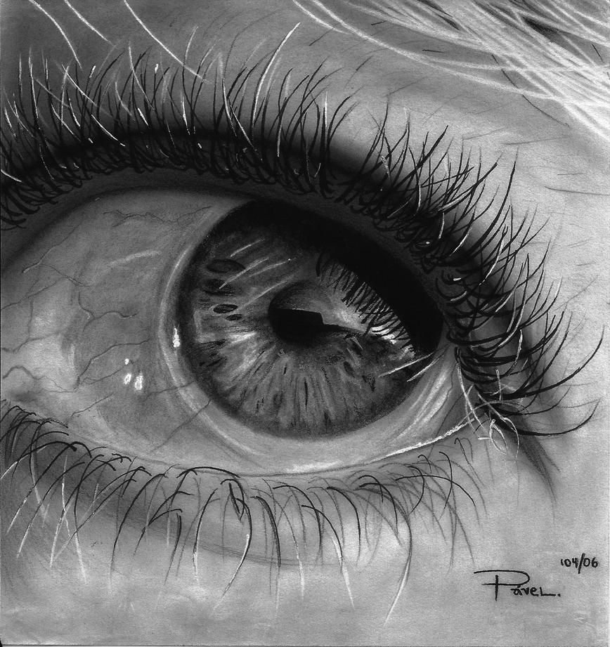 Eye closeup by PavelVerner