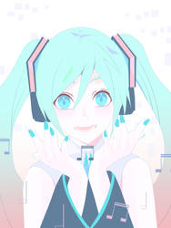 Step-by-step Hatsune Miku Illustration Part 5