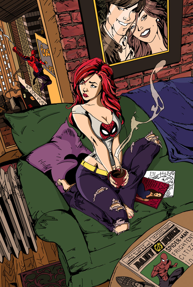 Mary Jane by UniqSchweick12