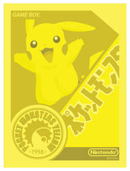 Pocket Monsters Yellow by UniqSchweick12