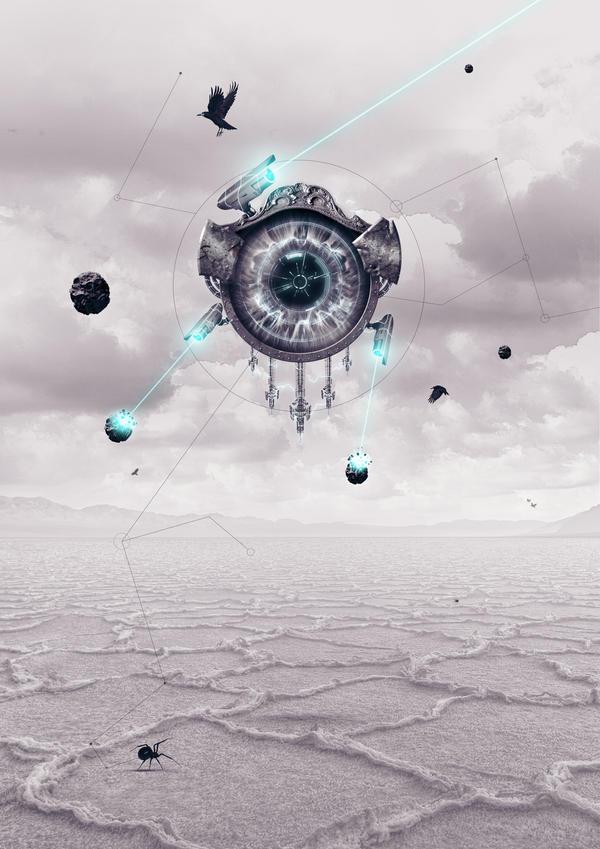 Eye Spyder by UniqSchweick12