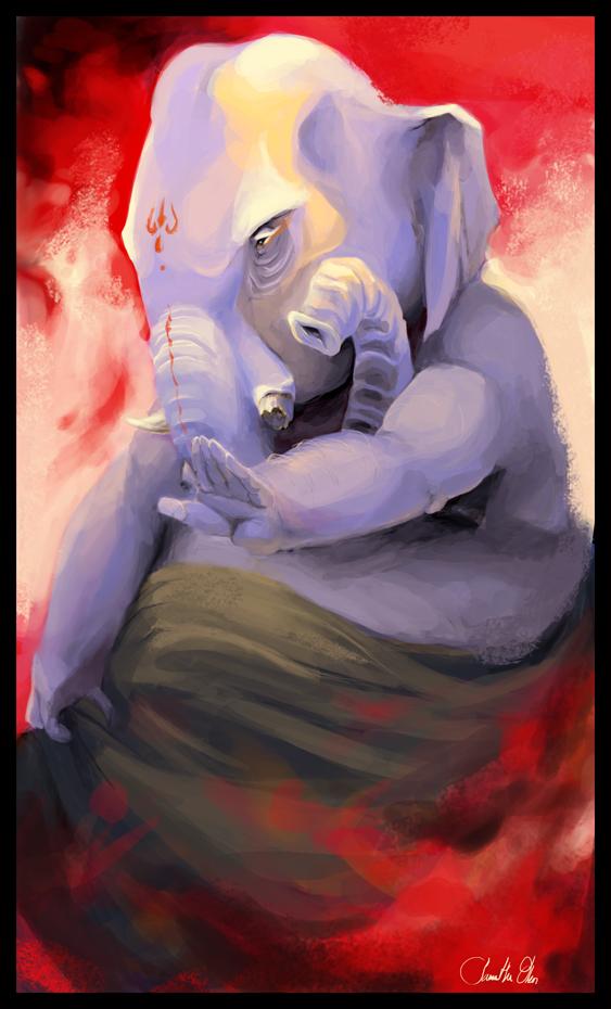 Ganesha by Bakehebi