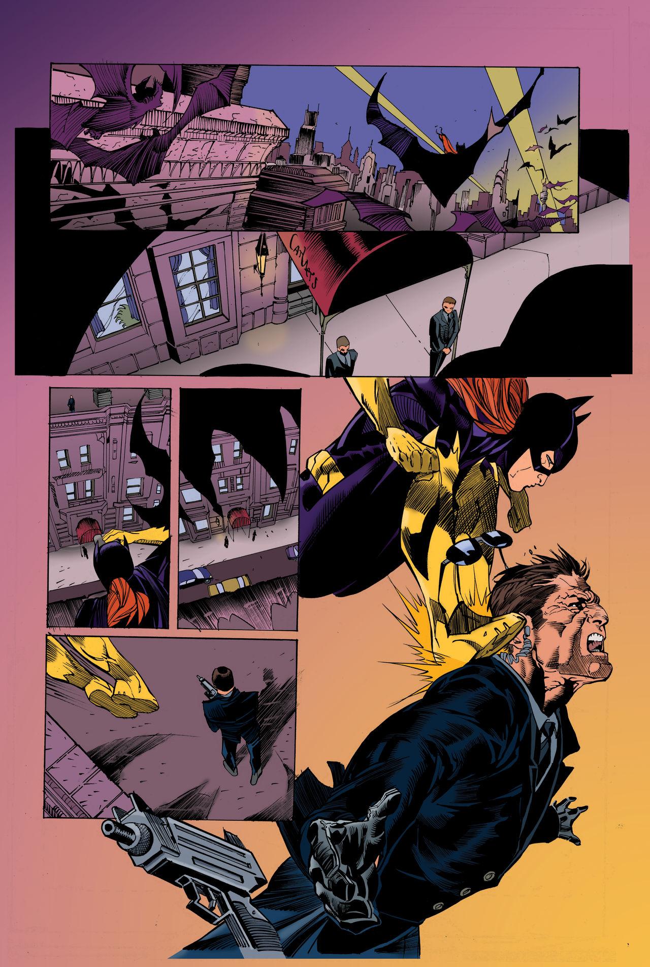 Batgirl Page
