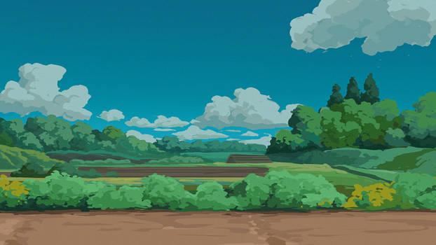 Ghibli Landscape Study 01