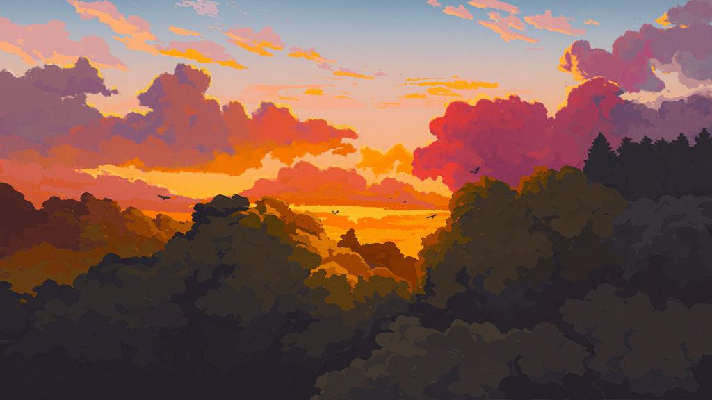 Ghibli Landscape Study 02