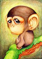little monkey by Hinagueshi