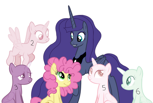 And Here We Have Some Ponies Having A Good Time