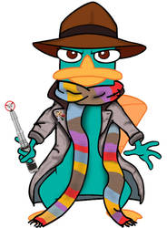 Doctor Who platypus - 4th version 2.0
