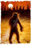 Bigfoot at Dusk
