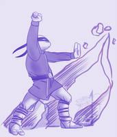 Earthbending Donatello by ralloonx