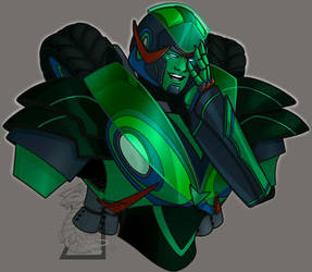 Autobot OC Edge Close Up