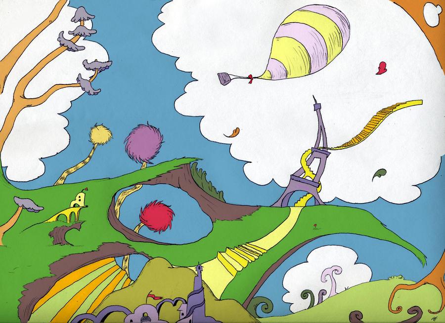 cloud wallpaper nursery
