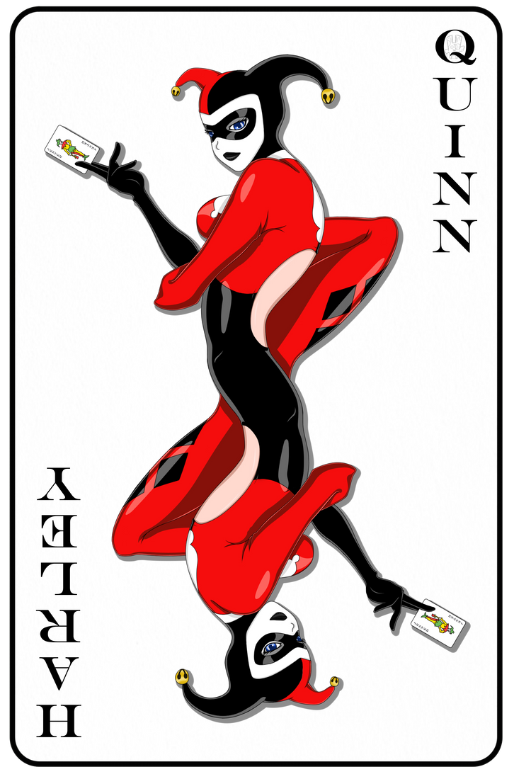 Harley Playing Card by rainboy666
