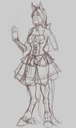 Lady Unn of House Wraak WIP by FiendsTooth